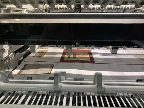 A sheet printing